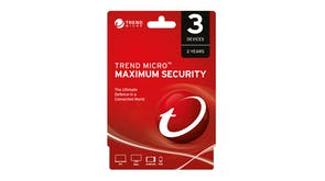Trend Micro Maximum Security - 3 Devices 24 Months