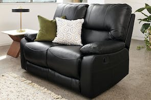 Waterford 2 Seater Leather Recliner Sofa