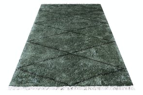 Zagros Jungle Green Floor Rug by Limon