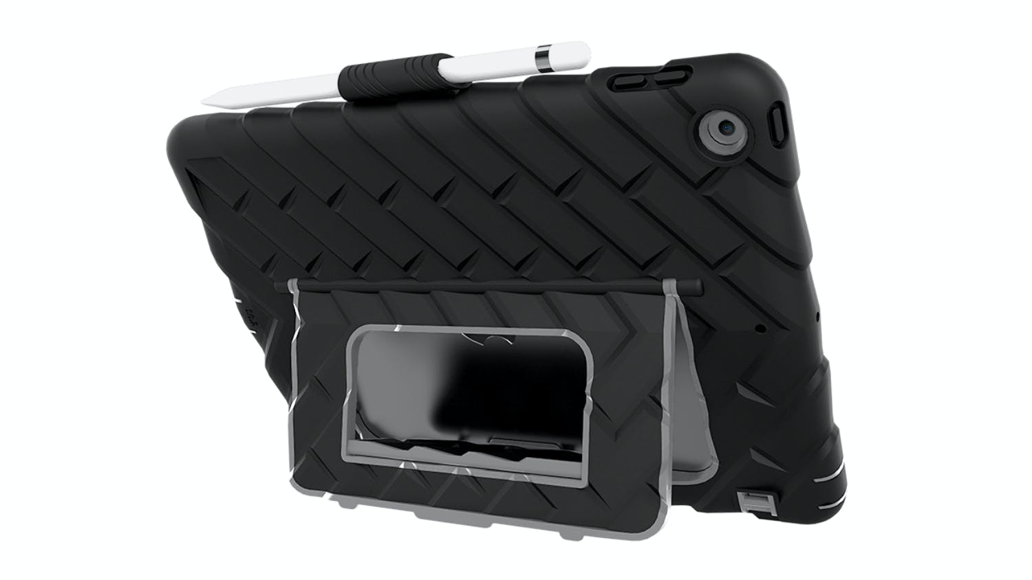 Gumdrop Hideaway Case for iPad 10.2″ (7th Gen) - Black