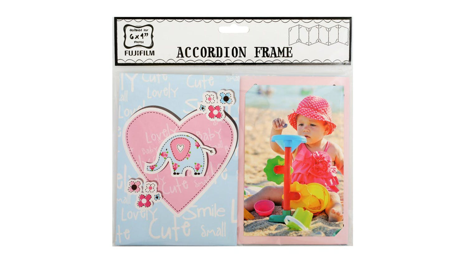 "Instax 6x4"" Accordion Photo Frame - Baby Girl"