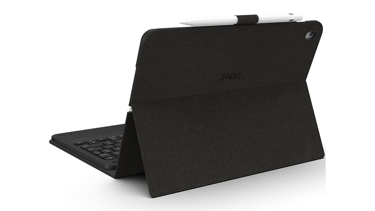 "Zagg Messenger Folio Case with Keyboard for iPad 10.2"" - Black"