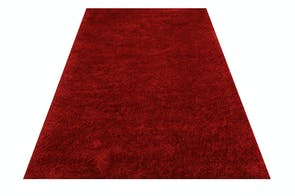 Brooklyn Chilli Red Floor Rug by Limon