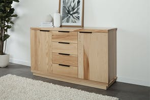 McKenzie 4-Drawer 2-Door Buffet by Coastwood Furniture