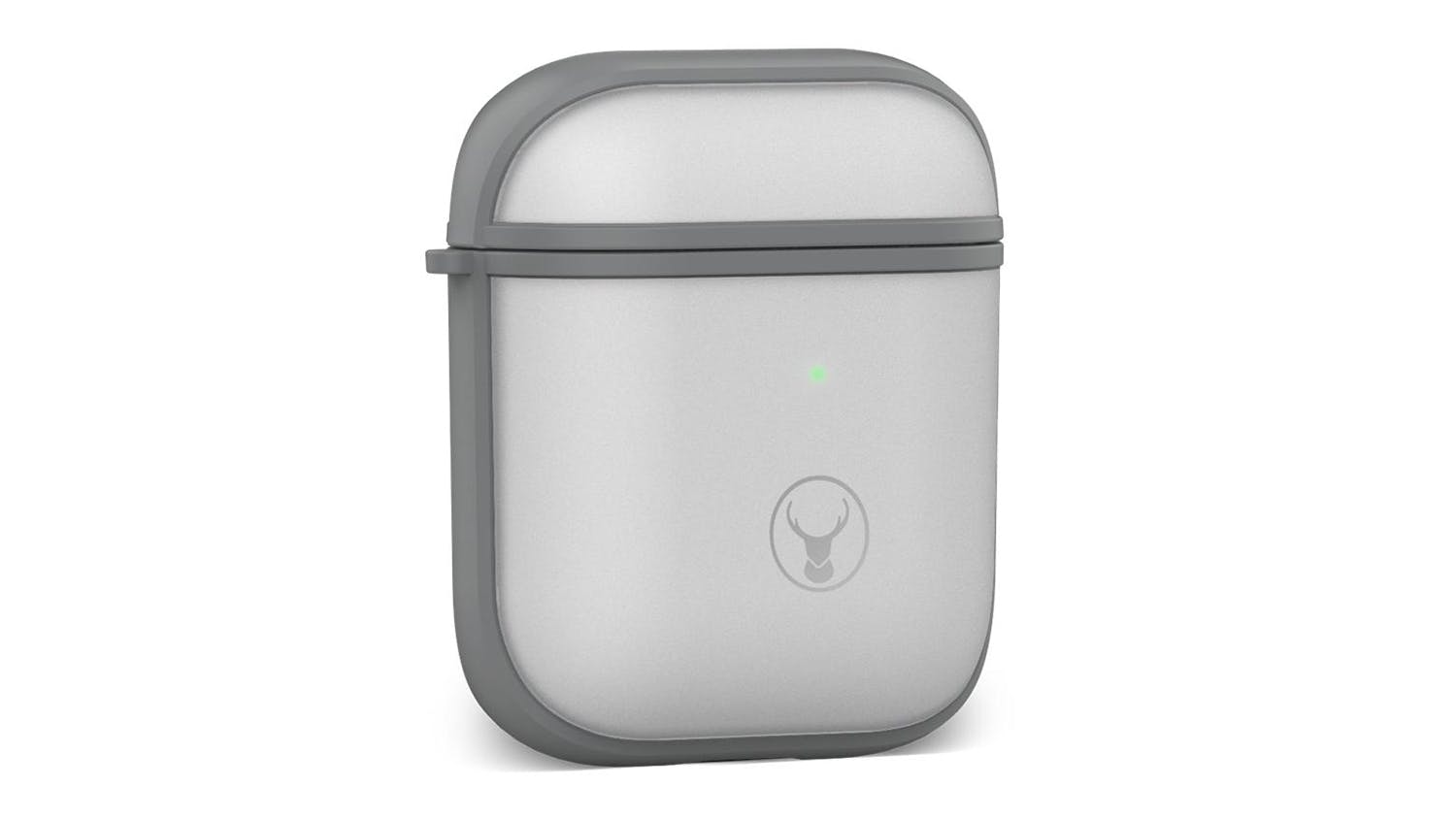 Bon.Elk Edge Anti-Shock Dual Injected Case for AirPods - Grey/Clear