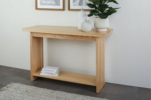 McKenzie Hall Table with Rack by Coastwood Furniture
