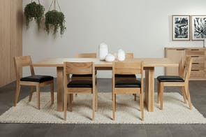 McKenzie 7 Piece Dining Table by Coastwood Furniture