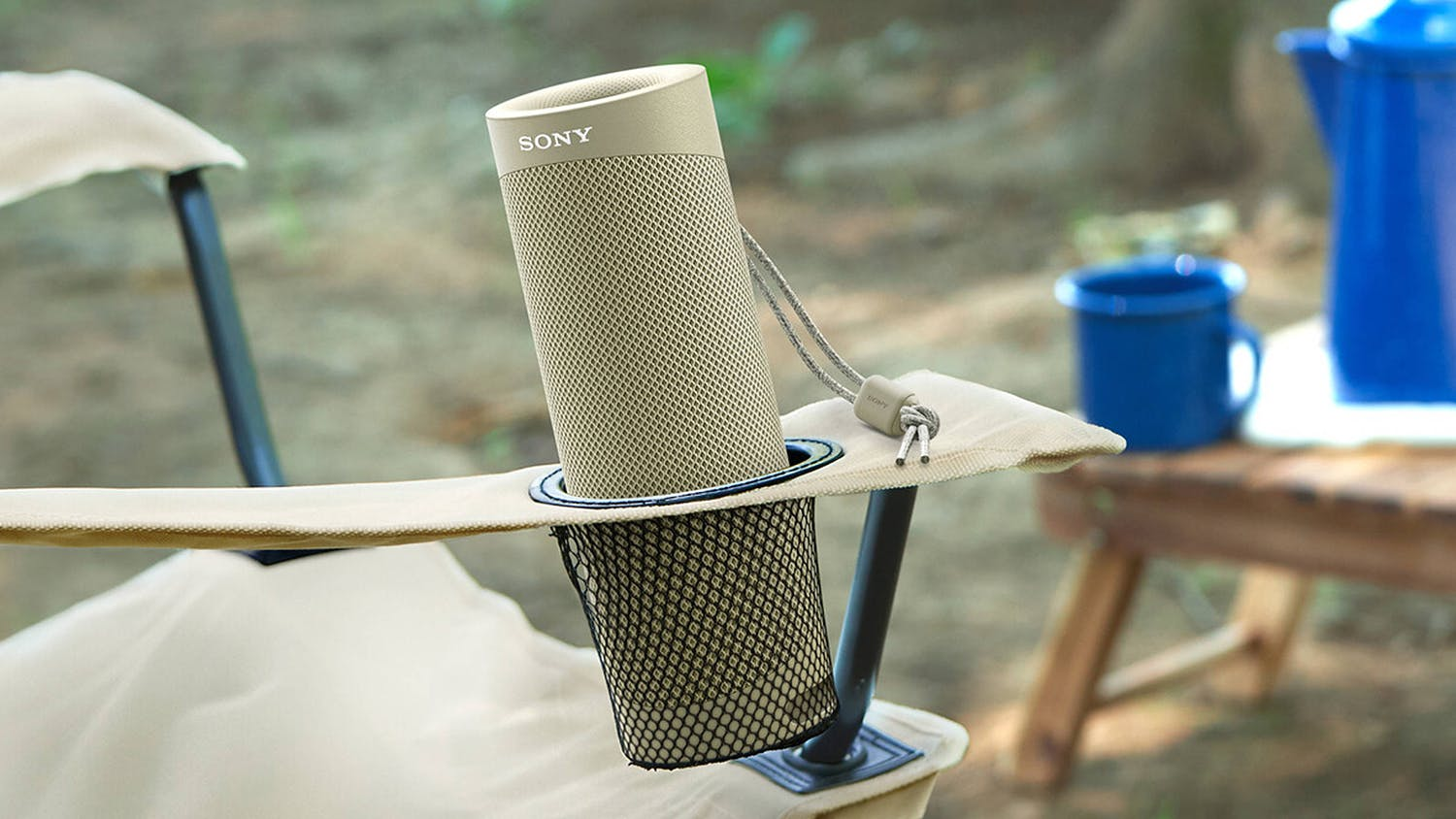Sony Extra Bass SRS-XB23 Portable Bluetooth Speaker - Taupe