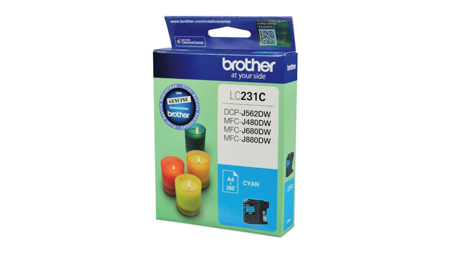 Brother LC231C Ink Cartridge - Cyan