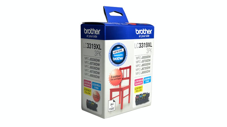Brother LC-3319XL Colour Ink Cartridges - Value Pack
