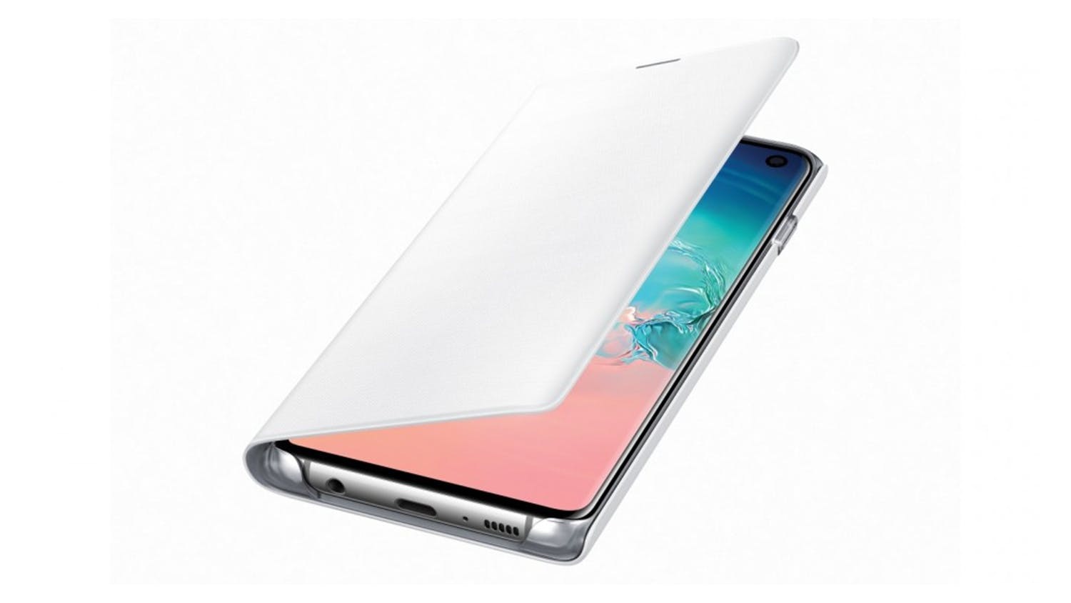 Samsung Galaxy S10 LED Cover - White