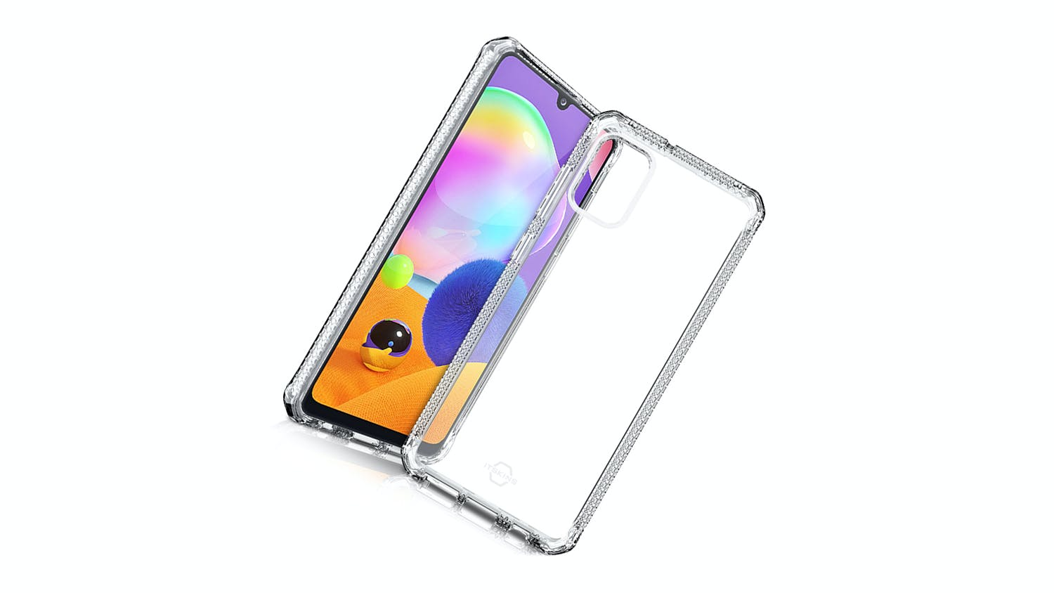 ITSKINS Spectrum Case for Samsung Galaxy A31 - Clear