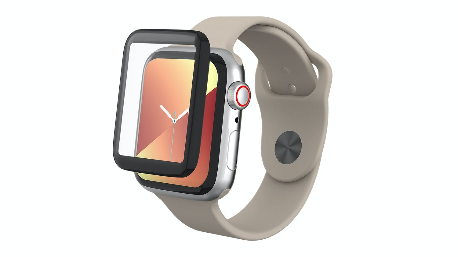 Zagg InvisibleShield Fusion Glass Protection for Apple Watch (Series 4/5) - 40mm