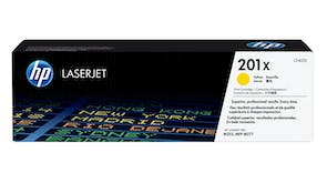 HP 201x LaserJet Toner Cartridge - Yellow