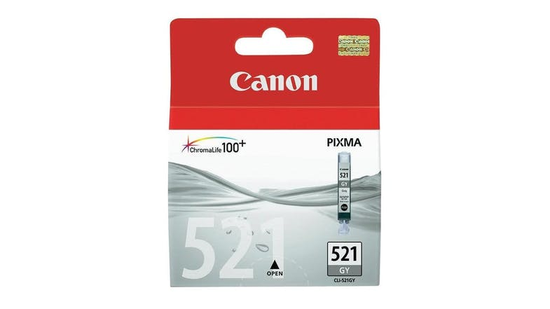 Canon CLI-521GY Photo Ink Cartridge - Grey