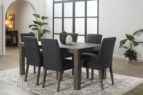 Kuta 7 Piece Dining Suite by John Young Furniture
