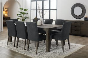 Kuta 9 Piece Dining Suite by John Young Furniture