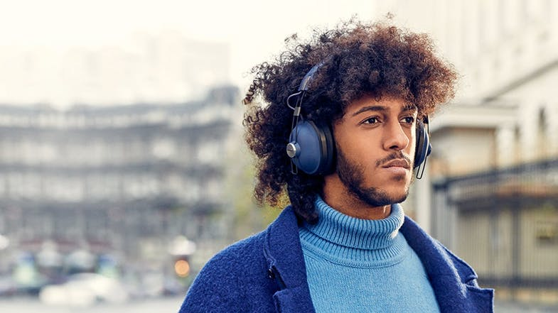 Panasonic Retro HTX90 Wireless Over-Ear Headphones - Blue