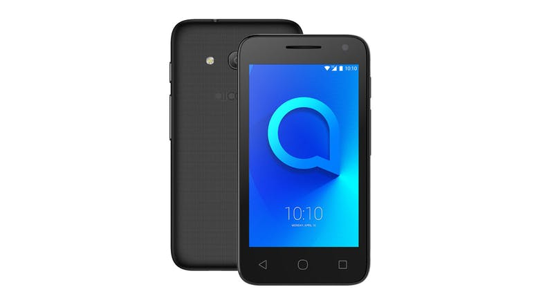 2degrees Alcatel 1E Smartphone - Black