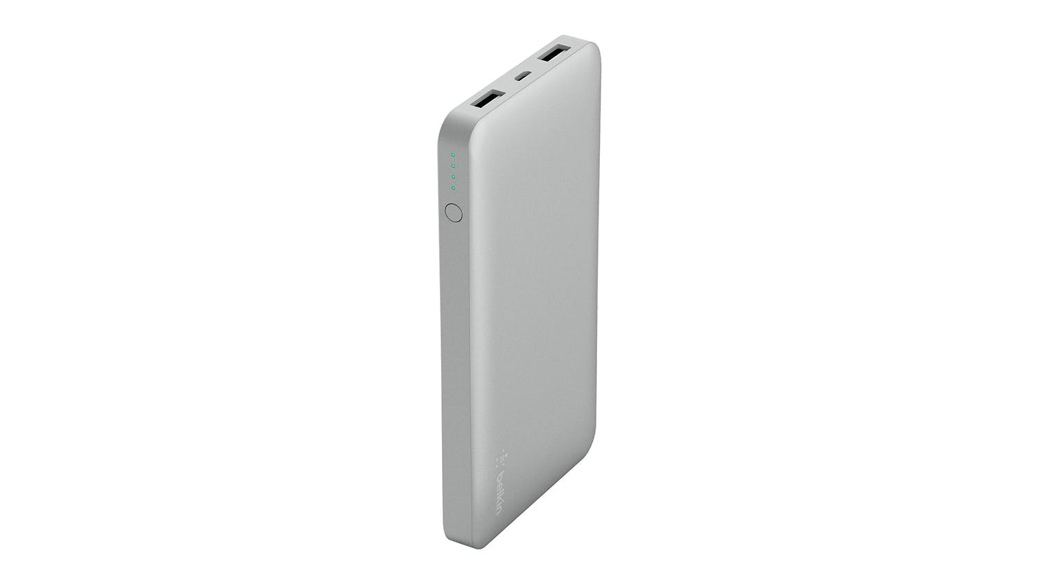 Belkin Pocket Power 10,000 mAh Power Bank - Silver
