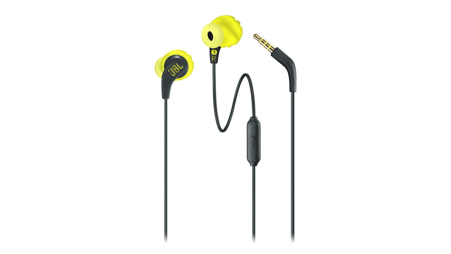 JBL Endurance Run In-Ear Headphones - Yellow