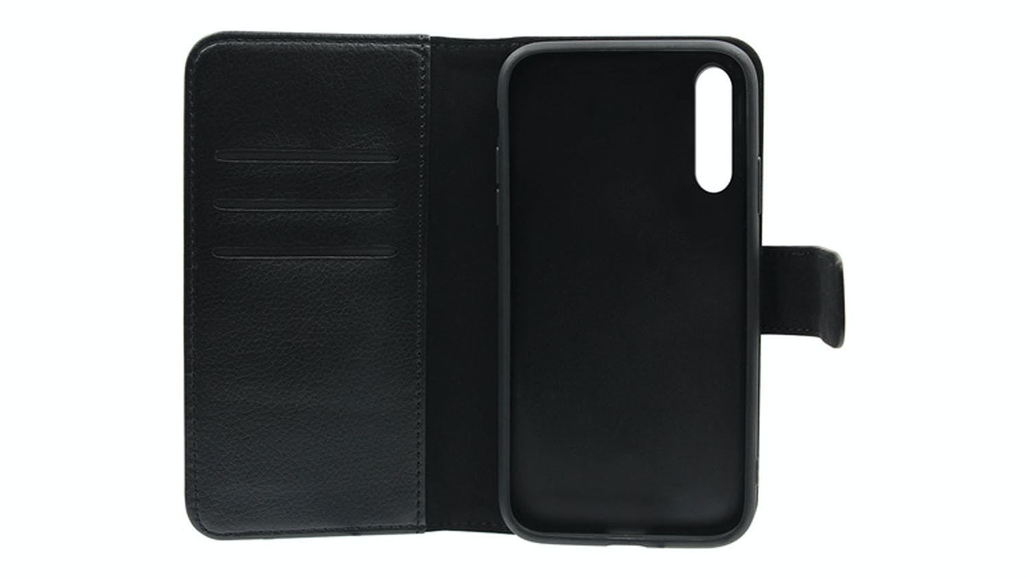 Mobling Magnetic Folio Wallet Case for Oppo Find X2 Lite - Black