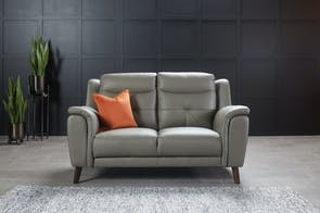 Georgia 2 Seater Leather Sofa by Vivin
