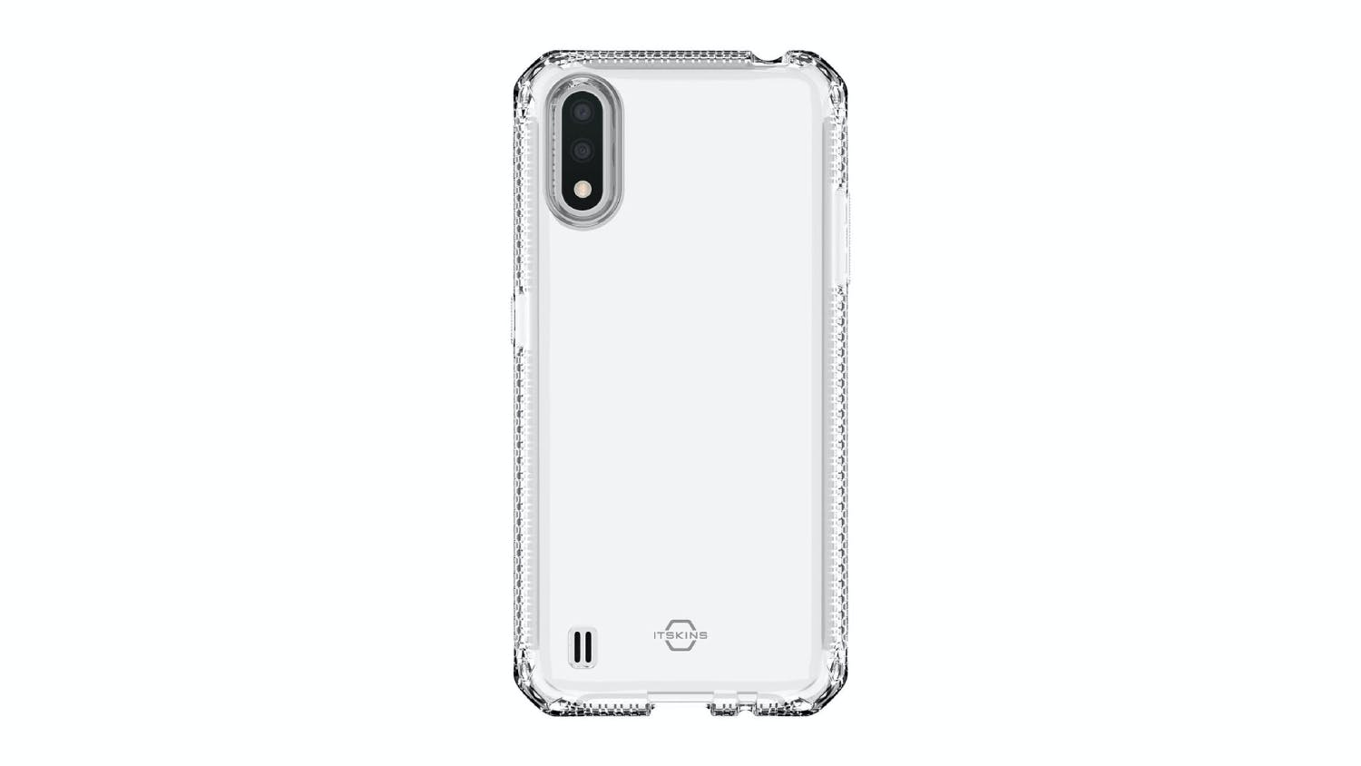 ITSKINS Spectrum Case for Samsung Galaxy A01 - Clear