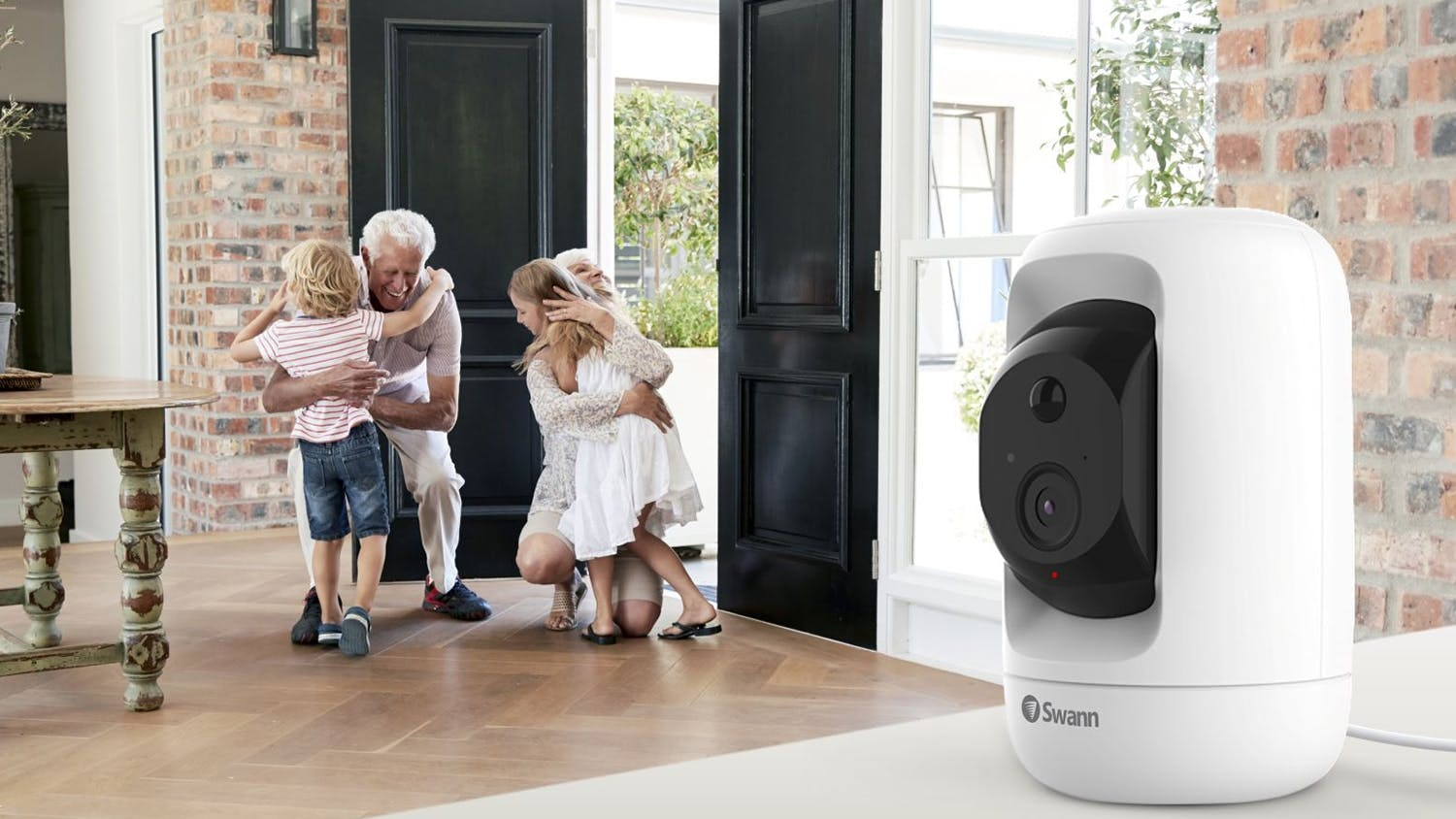 Swann 1080p WiFi Pan & Tilt Indoor Security Camera - White