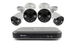 Swann DVR-5580 8 Channel 4K DVR Security System with 4 Thermal Sensing Camera