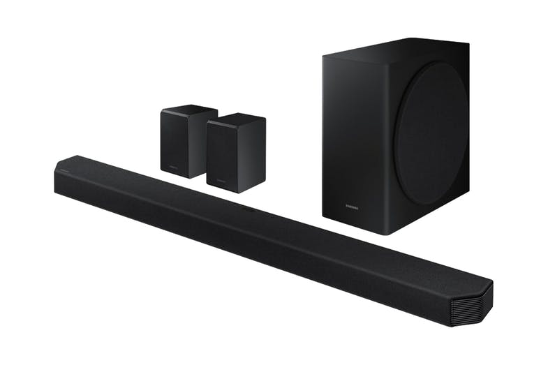 Samsung 9.1.4 Channel Soundbar + Satellite Speakers + Wireless Subwoofer