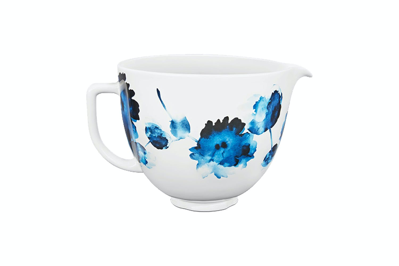 Kitchenaid 5 Quart Ink Watercolour Patterned Ceramic Bowl Harvey Norman New Zealand
