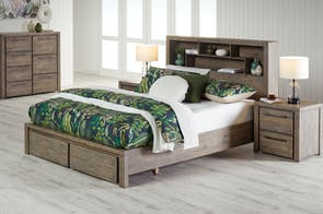 Prism 4 Piece Queen Tallboy Suite by Stoke Furniture