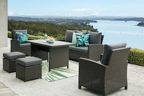 Philadelphia 6 Piece Outdoor Dining Setting