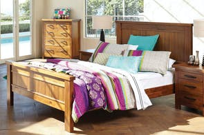 Cromwell Queen Bed Frame by John Young Furniture