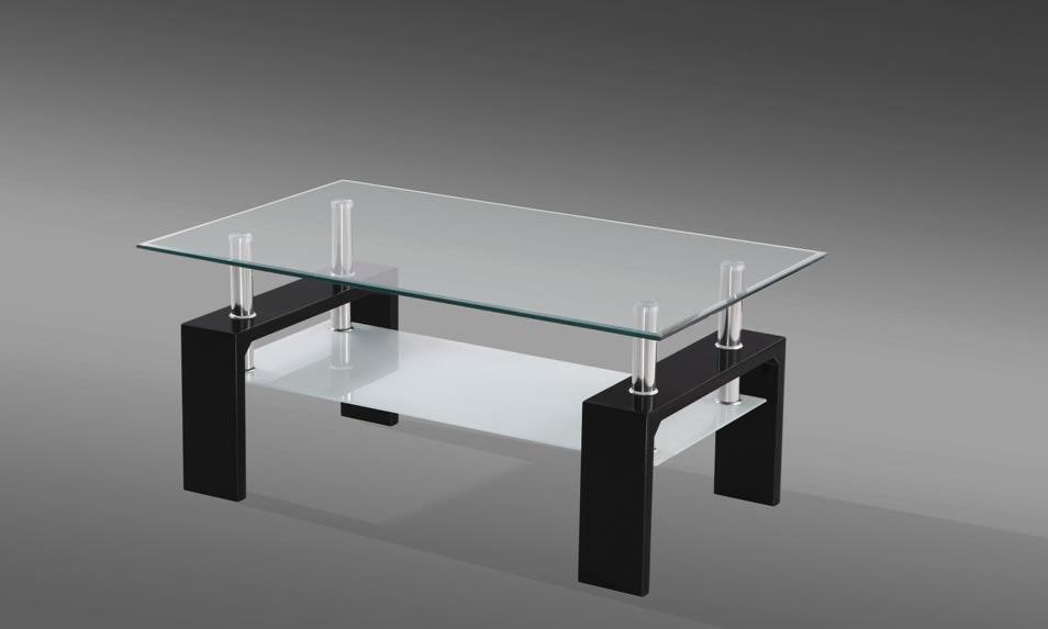 Munich Black Coffee Table