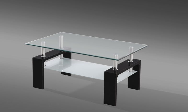 Munich Black Coffee Table