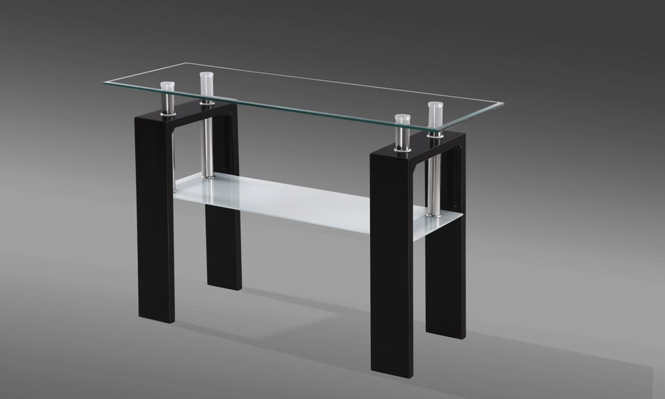 Munich Black Console Table