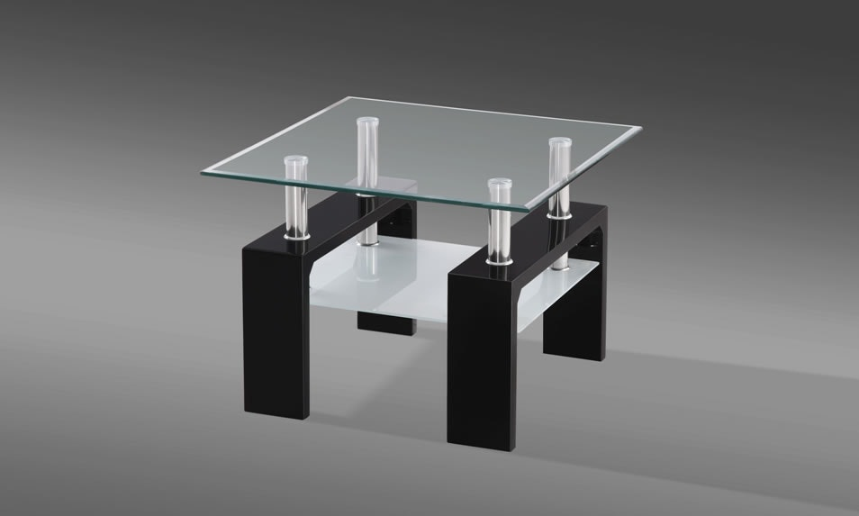Munich Black Side Table