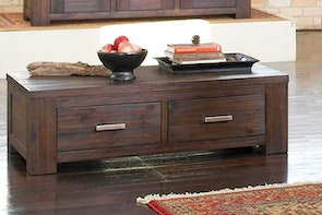 Rustic Heirloom Coffee Table by John Young Furniture
