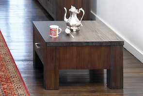 Rustic Heirloom Lamp Table by John Young Furniture