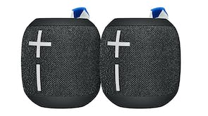 Ultimate Ears WONDERBOOM 2 Bluetooth Speaker 2 Pack - Deep Space Black