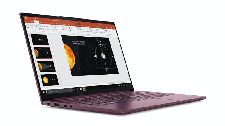"Lenovo Yoga Slim 7 AMD 14"" Laptop - Orchid"