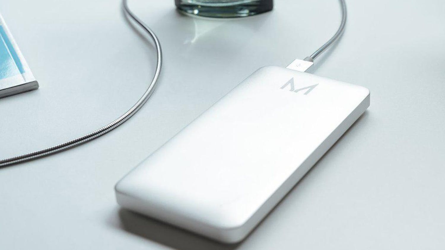 Moyork Lumo 5,000mAh Power Bank - Coin Silver