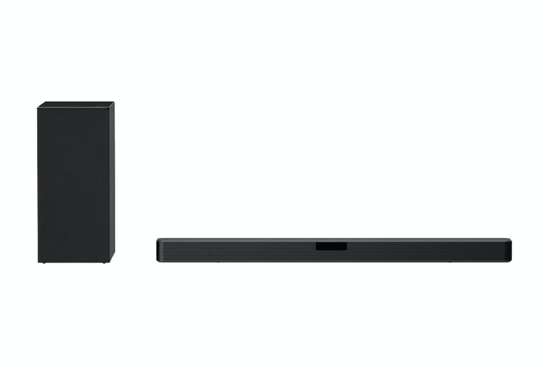 LG 2.1 Channel Soundbar + Wireless Subwoofer