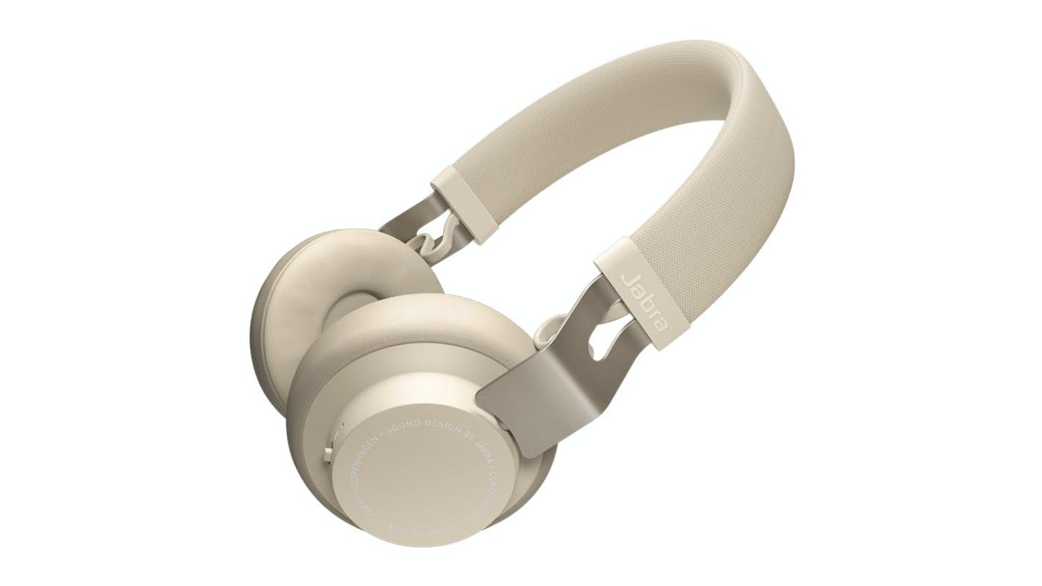 Jabra Move Style Wireless On-Ear Headphones - Gold Beige