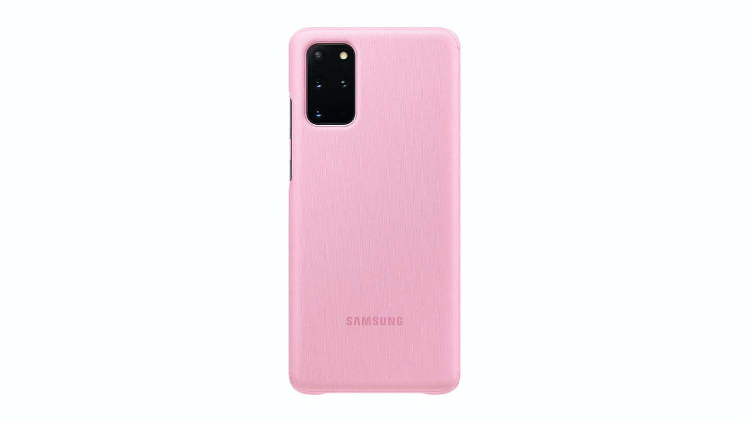Samsung Galaxy S20+ Clear View Cover - Pink