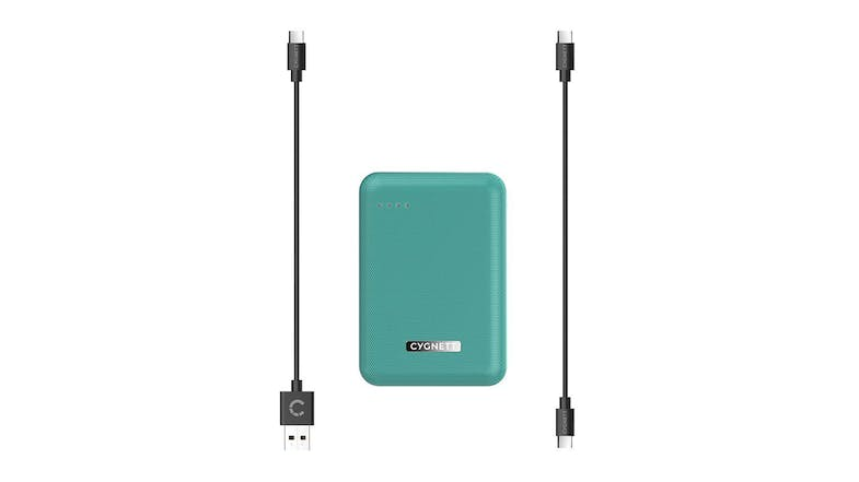 Cygnett ChargeUp Reserve 10,000mAh 18W Power Bank - Jade