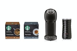 Dolce Gusto Genio S Plus Espresso Machine - Starbucks Bundle