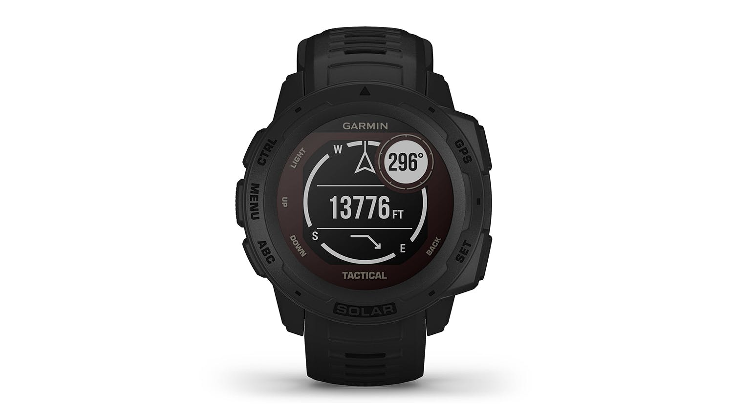 Garmin Instinct Solar Tactical Edition - Black